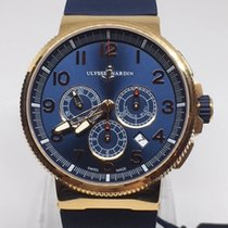 Ulysse Nardin Marine Chronograph Rose gold 43mm Blue Arabic numerals United States of America, Louisiana, New Orleans