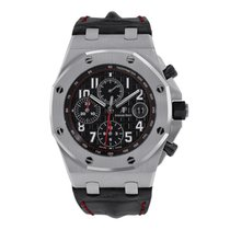 Audemars Piguet Royal Oak Offshore Chronograph Steel 42mm Black Arabic numerals