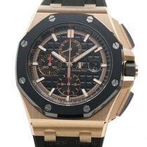 Audemars Piguet Royal Oak Offshore Chronograph Pозовое золото 44mm Чёрный