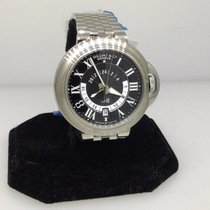 Bedat & Co No. 8 Automatic Dual Time Stainless Steel Men's Watch