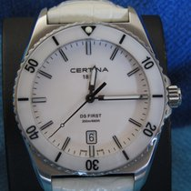 Certina DS First Céramique 41.5mm Blanc