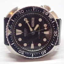 Seiko Turtle Diver 1983 Black Dial Stainless Mens Watch...