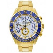 Rolex Yacht-Master II Yellow gold 44mm White No numerals United Kingdom, Blackburn