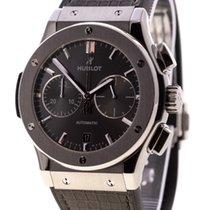 Hublot Classic Fusion Racing Grey Chronograph Titanium Grey