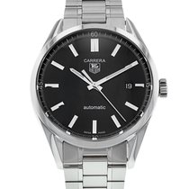 TAG Heuer Carrera Calibre 5 pre-owned 39mm Steel