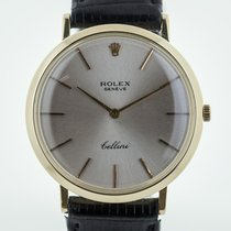 Rolex Cellini (Submodel) pre-owned 31.3mm Yellow gold