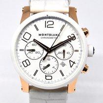 Montblanc Timewalker Oro rosado 43mm Blanco