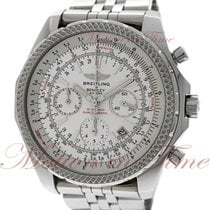 Breitling Bentley Motors Steel 48.8mm Silver No numerals United States of America, New York, New York