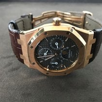 Audemars Piguet Royal Oak Perpetual Calendar Rose gold 39mm Brown
