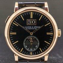 A. Lange & Söhne Saxonia Rose gold 40mm Black United States of America, Massachusetts, Boston