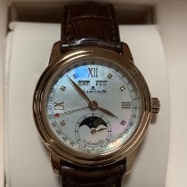 Blancpain Léman Moonphase Rose gold 33mm Mother of pearl Roman numerals United States of America, Alabama