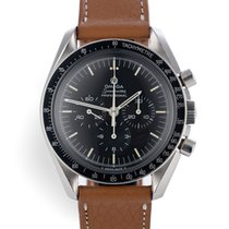 Omega Speedmaster Professional Moonwatch pre-owned 42mm Calf skin