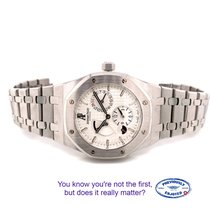 Audemars Piguet Royal Oak Dual Time Steel 39mm White No numerals United States of America, California, Beverly Hills