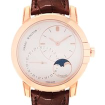 Harry Winston Midnight Rose gold 42mm Silver United States of America, New Jersey, Cresskill