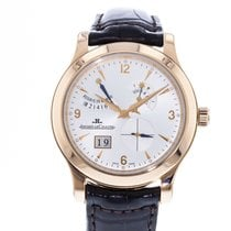 Jaeger-LeCoultre Master Eight Days Ruzicasto zlato 41.5mm Srebro