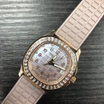 Patek Philippe Aquanaut Rose gold 35.6mm Mother of pearl United States of America, New York, New York