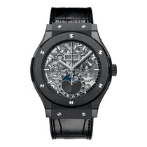 Hublot Classic Fusion Aerofusion Moonphase Black Magic