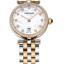 Louis Erard ROMANCE MOTHER OF PEARL WHITE STRAP STEEL 10800SB2...