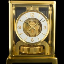 Jaeger-LeCoultre Gilt Brass White Chapter Ring Atmos Clock