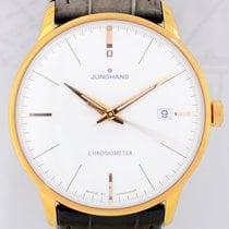 Junghans Meister Chronometer Dresswatch Klassiker vergoldet...