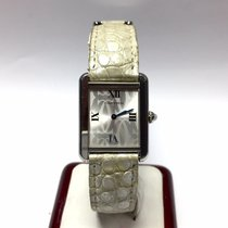 Cartier Tank Solo Luxury Ladies Watch with Original Leather Band