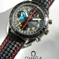 Omega Speedmaster triple date Schumaker MK40
