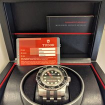 Tudor Hydro 1200 Stainless Black 45mm 25000 Divers watch Auto