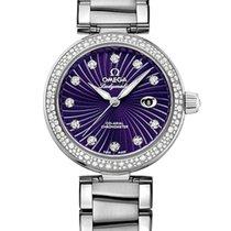 Omega De Ville Ladymatic Acier 34mm Violet