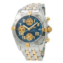 Breitling Chrono Cockpit Steel 39mm Blue Roman numerals United States of America, New York, New York