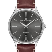 Hamilton Jazzmaster Thinline Steel 40mm Grey