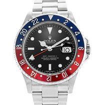 Rolex Gents Stainless Steel Blue/Red Pepsi Dial Rolex GMT Master