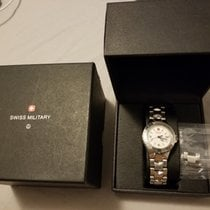 Swiss Military 28mm Quartz 2010 pre-owned White