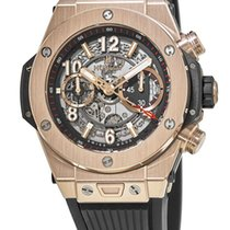 Hublot Big Bang Unico Rose gold 45mm Transparent United States of America, New York, Brooklyn