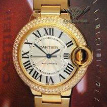 Cartier Ballon Bleu 33mm gebraucht 33mm Gelbgold