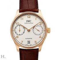IWC Portuguese Automatic IW500701 New Rose gold 42.3mm Automatic