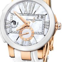 Ulysse Nardin Executive Dual Time Lady 246-10/391 new