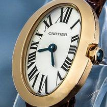 Cartier Baignoire Or rose 20mm Argent Romain