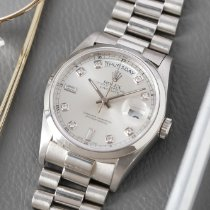 Rolex Day-Date Platinum 36mm Silver Singapore, Singapore