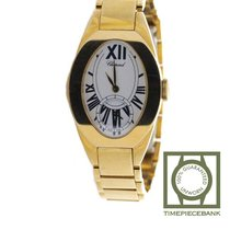 Chopard Classic Geelgoud 24mm Wit Romeins