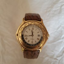 Ebel Voyager Yellow gold 38mm White Roman numerals