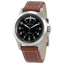 Hamilton Khaki Field King Stahl Transparent Arabisch