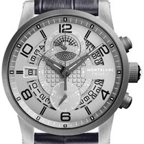 Montblanc Timewalker MONTBLANC Timewalker TMW Titanium Flyback Men's Watch 107338 new