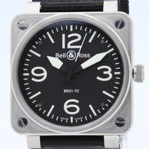 Bell & Ross BR 01-92 BR01-92-S 2014 pre-owned