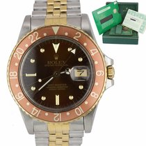 Rolex 16753 Gold/Steel GMT-Master 40mm pre-owned United States of America, New York, Massapequa Park