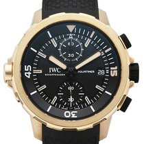 IWC Aquatimer Chronograph nuevo 2020 Automático Cronógrafo Reloj con estuche y documentos originales IW379503