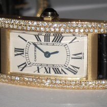 Cartier Tank Américaine Yellow gold 19mm White Roman numerals United States of America, New York, NEW YORK CITY