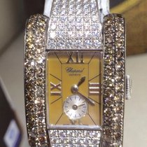 Chopard LA STRADA 18 KT  WHITE GOLD & ORIGINAL DIAMOND SETTING