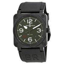 벨앤로스 (Bell & Ross) Men's BR0392-MIL-CE Military Automatic Watch