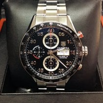 TAG Heuer Carrera Calibre 16 Steel 43mm Black Arabic numerals United Kingdom, Wilmslow