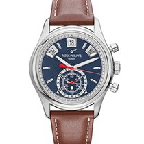 Patek Philippe Annual Calendar Chronograph White gold 40.5mm No numerals